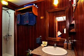 cruise bathroom
