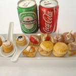 food and drink on speed boat