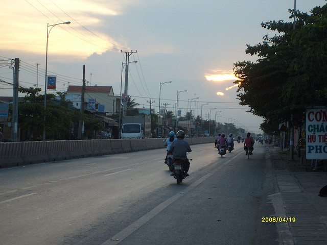 my house in Chau doc town- Chaudoctravel.com