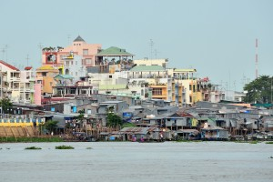 chau doc, rich and poor