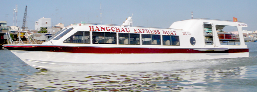 Promotion for express boat tickets to Chau Doc