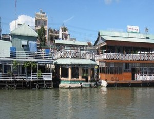 river front delta floating hotel