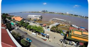 Free pick up to Sisowath International Quay Phnom Penh